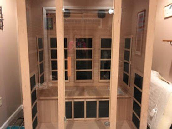 Fair Haven, Estado de Nueva York: Infrared Sauna