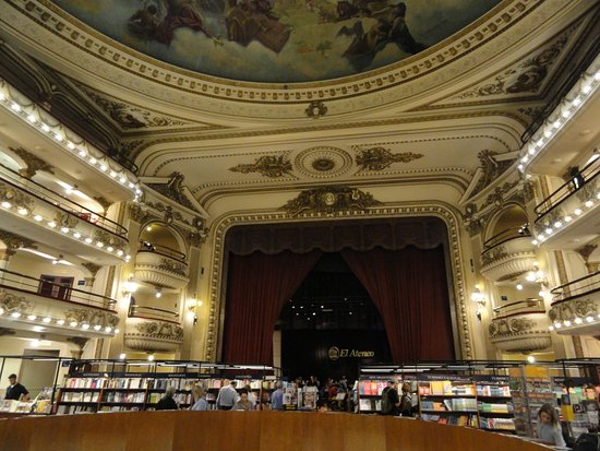 el ateneo grand splendid interieur
