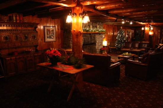 North River, Estado de Nueva York: Garnet Hill Lodge at Christmas