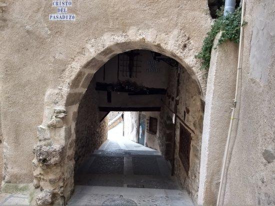 Cuenca, Spain: Cristo del pasadizo