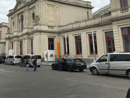 Leuven Train Station: The main entrance to Train Station