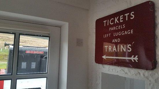 Newcastleton, UK: Saughtree Station B&B