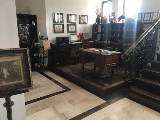Archia, رومانيا: front-desk and lobby
