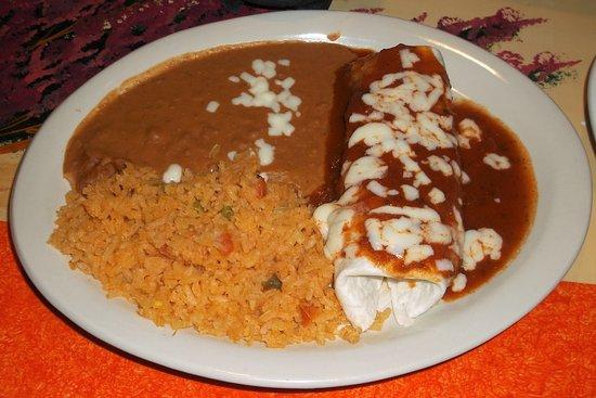 El Rancho : Mon assiette