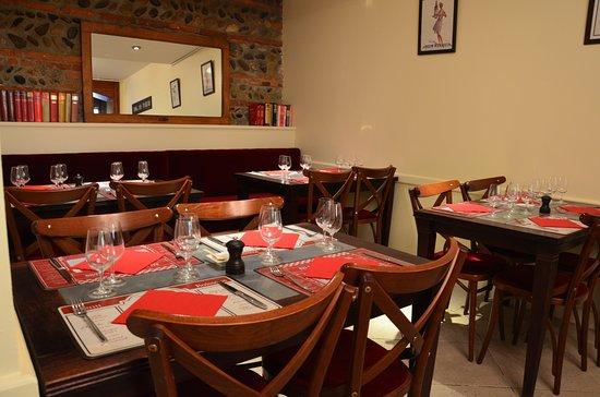 Le Chai Saint Sauveur : Salle restaurant