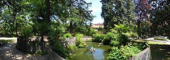 Pinerolo, Italie : Parco di Villa Prever
