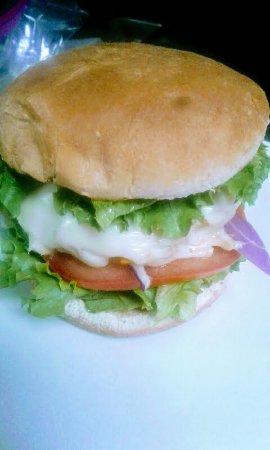 Berkeley Springs, Virginia Occidental: Veggie Burger