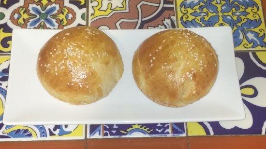 Berkeley Springs, فرجينيا الغربية: Homemade Bread Rolls