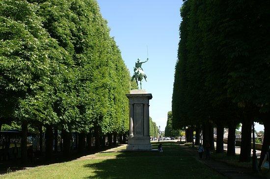 La Statue Equestre de La Fayette