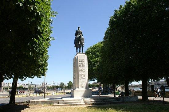 Statue Equestre d'Albert 1 er