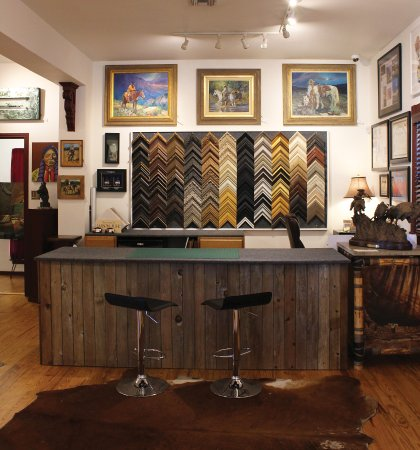 Custom Framing & Design Center - Picture of Texas Treasures Fine Art ...