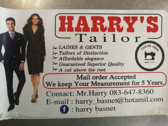 Harrys Tailor