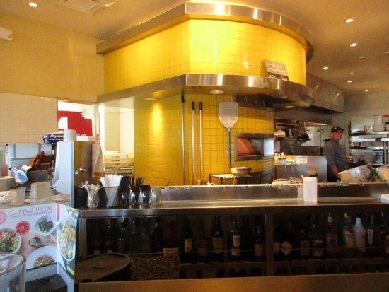 Pizza oven at California Pizza Kitchen - Picture of California Pizza ...