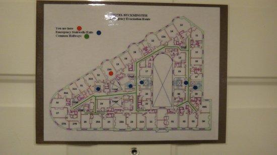 Hotel Boston Map.Floor Layout Picture Of Boston Hotel Buckminster Boston Tripadvisor