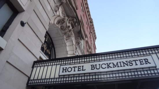 Boston Hotel Buckminster: Main Sign