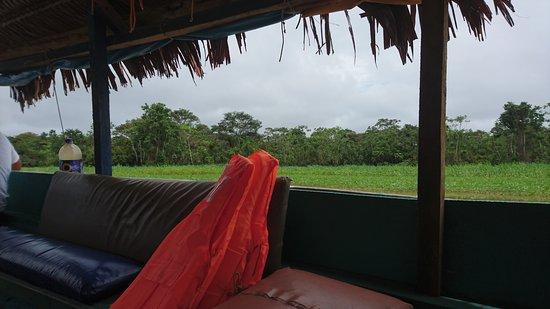 Lagunas, Peru: ingresando al rio marañón