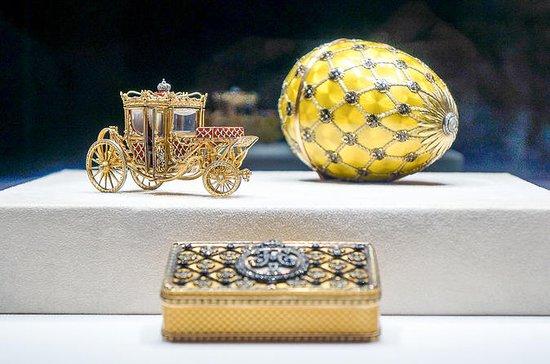 Bedste af St. Petersborg med Fabergé...