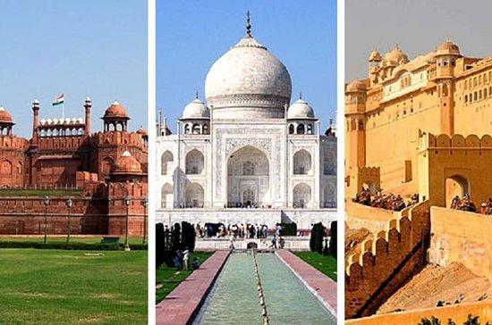 5 jours Delhi-Agra-Jaipur Golden...