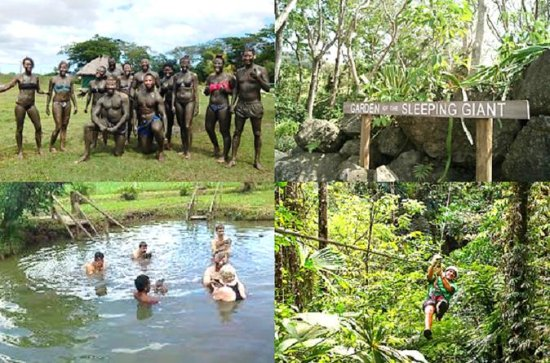 Adventure Tour - Zipline, Mud Pool...