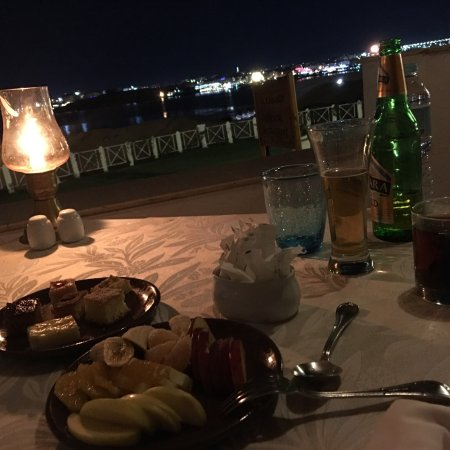 Top of Food ob top of Sharm!