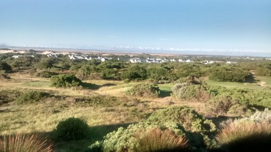 St Francis Golf Lodge: View from decking dining