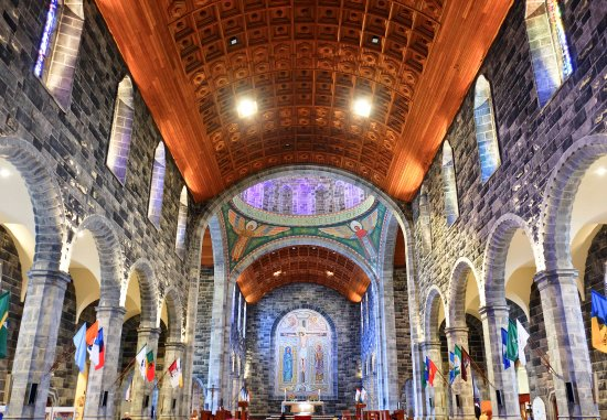 Galway Cathedral: Richly decorated interior