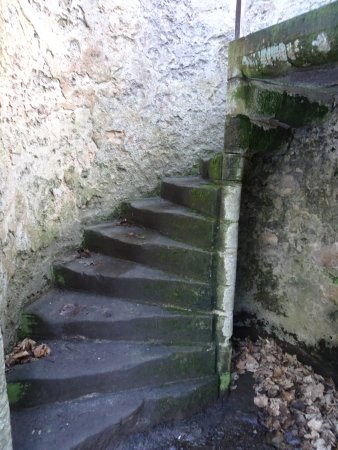 Dalgety Bay, UK: stairs to upper floor