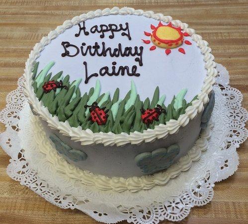 Ladybug Birthday Cake Westhampton Pastry Shop Richmond VA