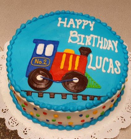 Phenomenal Ladybug Birthday Cake Westhampton Pastry Shop Richmond Va Personalised Birthday Cards Beptaeletsinfo