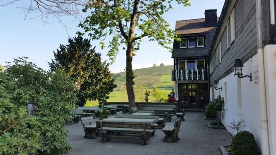 Oberkirchen, Germany: Biergarten