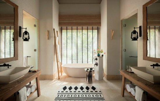 Desroches Island, Seychellen: Coral Beach Villa Bathroom