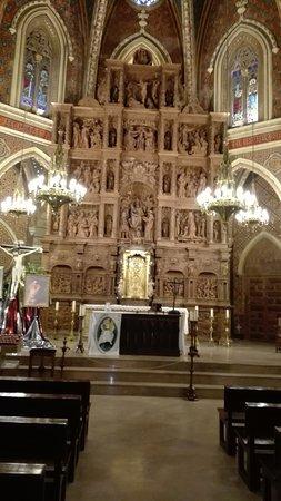 Fundacion Amantes de Teruel: Detalle del retablo mayor.