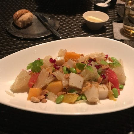review on the chedi hotel's restaurant Satisfy your appetite at the hotel's restaurant, which  the spa at the chedi club has 2 treatment rooms  we seem to have had an issue loading our review.