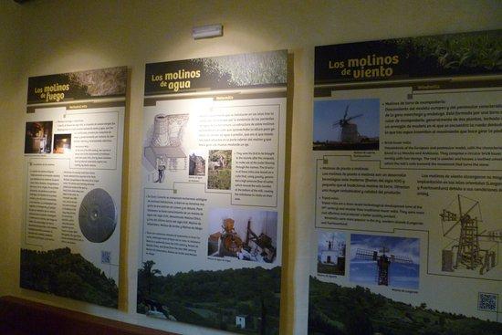 Valleseco, Espanja: En este museo se explican los tipos de molinos con los que se muele el gofio