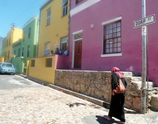 Cape Town Central, Afrika Selatan: une des rues