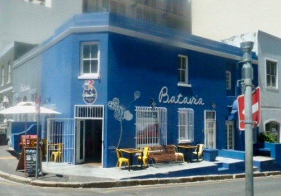 Cape Town Central, Afrika Selatan: un restaurant aux couleurs toniques