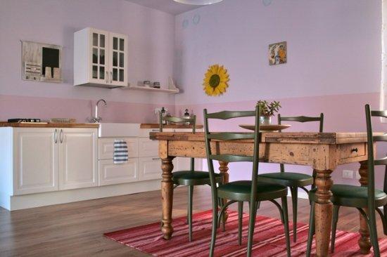 Trezzo Tinella, Italia: Cucina privata in appartamento