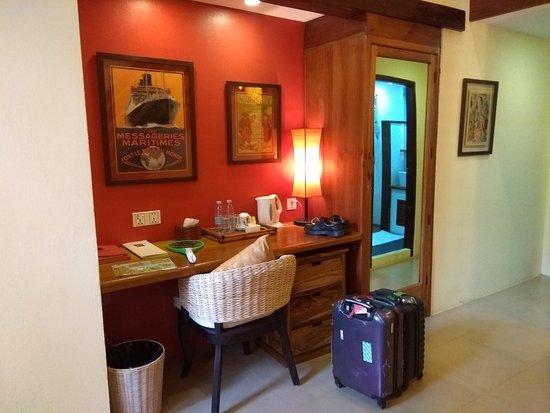Rikitikitavi: Lower floor of room