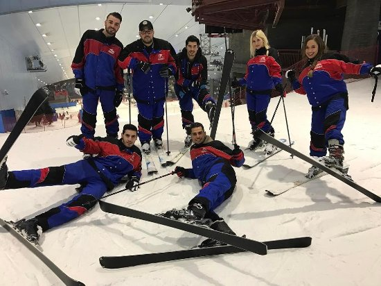 Feel the winter chill in the heart of the desert at Ski Dubai