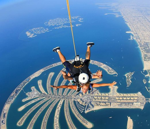 Take in breathtaking views of Dubai's Palm Jumeirah
