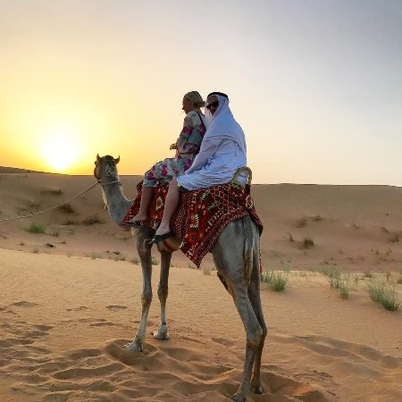 Dubai, United Arab Emirates: Catch a glimpse of Bedouin life with camel rides across the desert