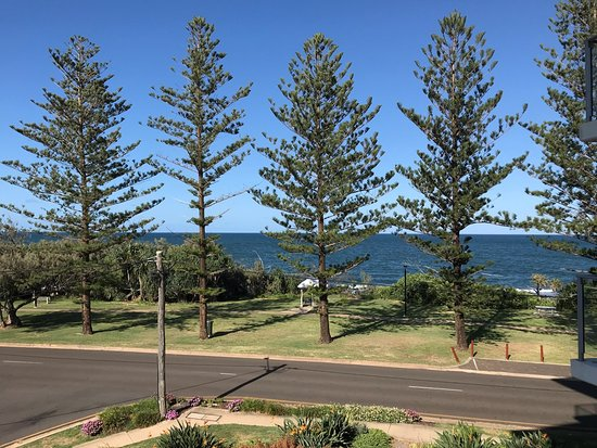 Bargara, Australia: View from balcony