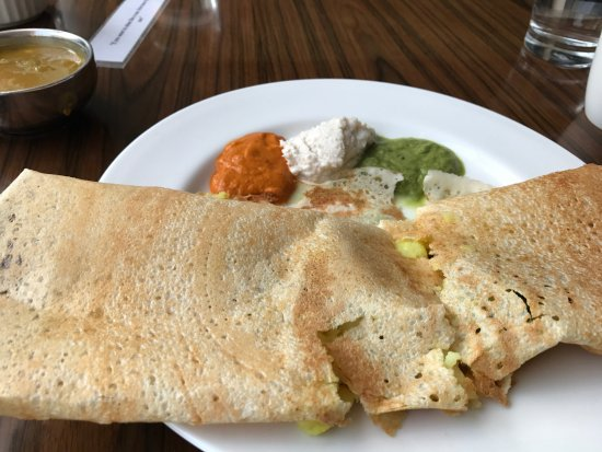 Courtyard by Marriott Kochi Airport: breakfast dosa