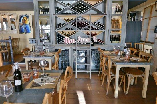 Restaurant la table de jeanne bistro ambiente im gastraum
