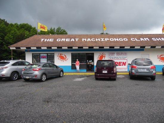 Nassawadox, فيرجينيا: Parking area