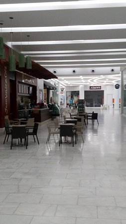 Aisle of the Albrook Mall (Closed Hours)