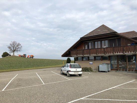 Belp, Suiza: Chutzen mit Panoramarestaurant