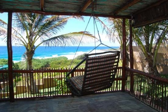 Tofinho, Mozambique: View from veranda