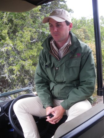 Pumba Private Game Reserve: Assistant Head Ranger, Neale Howarth in reflective mode!