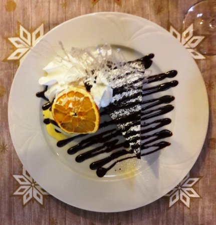 Zala County, Hongrie: Csokis brownie vanília fagylalttal